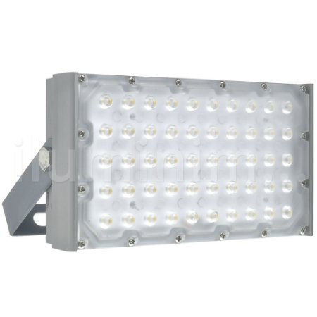 Refletor LED Industrial Modular 50w Performance PRO Branco Frio - IP66