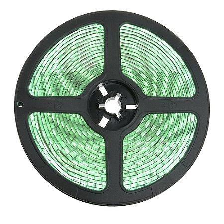 Fita LED Verde 3528 5 metros 24W IP65