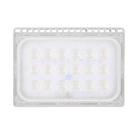 Refletor Holofote Ultra LED 50W Branco Frio