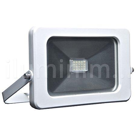 Refletor MicroLED Ultra Thin 20W Branco Frio Pure White