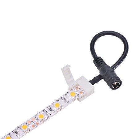 Conector para Fita LED 3528 terminal P4 - 1 cor - 10mm