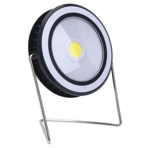 Refletor LED Solar 20w Redondo Portátil Recarregável para Camping