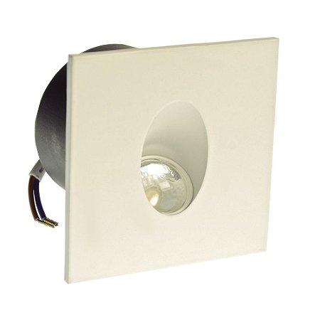 Luminária Arandela LED 3W Branco Quente Externa