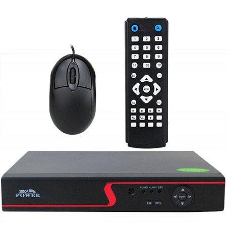 DVR Stand Alone 4 Canais AHD-M Full HD para Sistema de Segurança CFTV