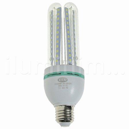 Lampada LED 24W E27 Branco Quente