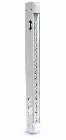Luminária de Emergência 30 LEDs | Super Slim
