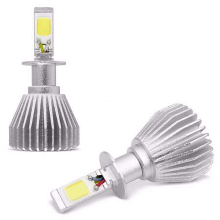 Kit Lâmpada Super LED Automotiva 40W Headlights 6000k Efeito Xenon
