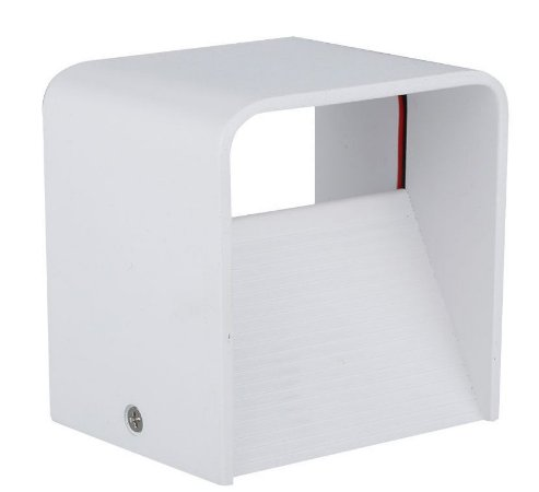 Luminária Arandela LED 5W Branco Frio Cubo