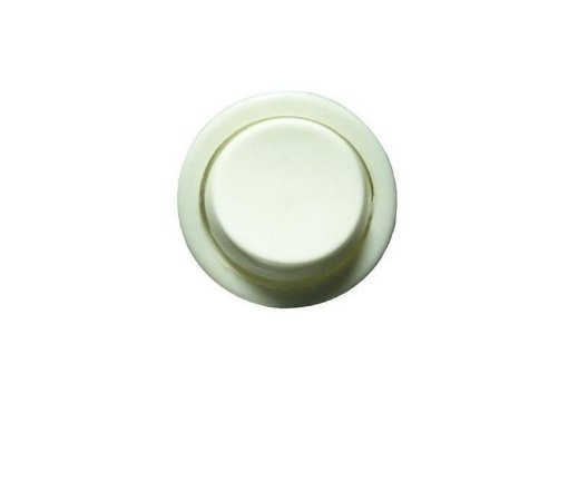 Interruptor Simples Bolinha de Embutir Cor Branca
