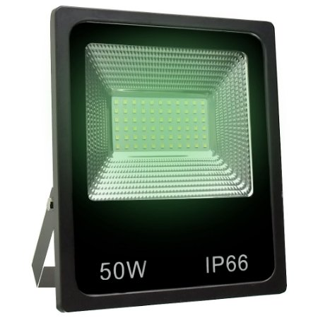 Refletor Holofote MicroLED SMD 50W Verde