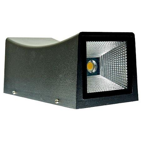 Luminária Arandela LED 20W Branco Quente Retangular