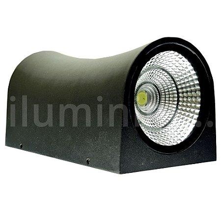 Luminária Arandela LED 20W Branco Frio Arredondada