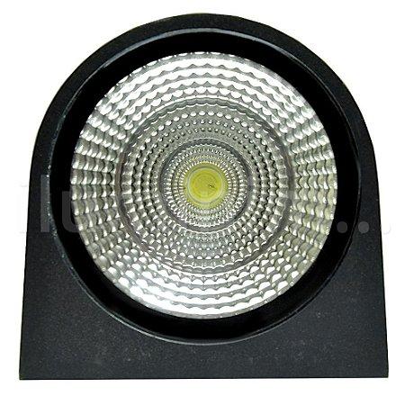 Luminária Arandela LED 20W Branco Quente Arredondada
