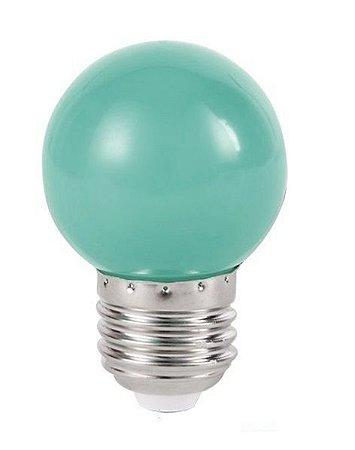 Lâmpada LED Bolinha 1w Verde | Inmetro