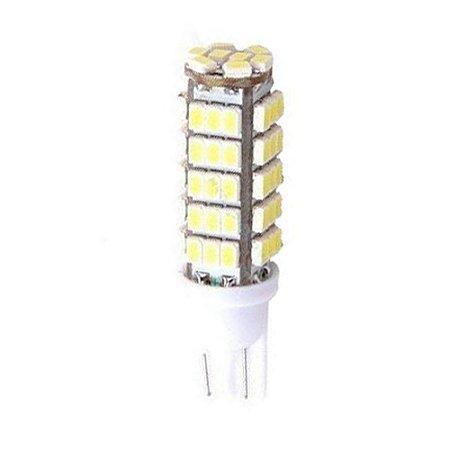 Lâmpada LED Automotiva T10 5W Pingo 68 Leds Branco Frio