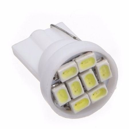 Lâmpada LED Automotiva T10 5W Pingo 8 Leds Branco Frio