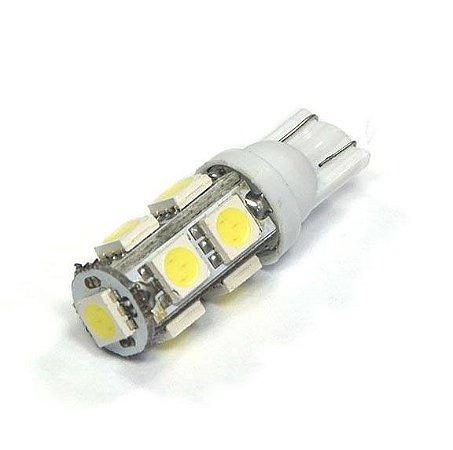 Lâmpada LED Automotiva T10 Pingo 9 Leds Branco Frio
