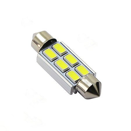 Lâmpada LED Automotiva Torpedo 6 Leds C5w 39mm