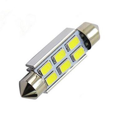 Lâmpada LED Automotiva Torpedo 6 Leds C5w 41mm