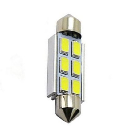 Lâmpada LED Automotiva Torpedo 6 Leds C5w 41mm