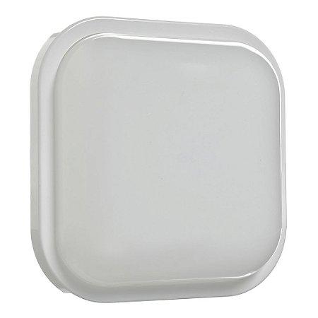 Luminária Arandela LED Quadrada 15W Bivolt Branco Quente