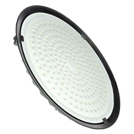 Luminária Industrial LED High Bay UFO 200W Branco Frio