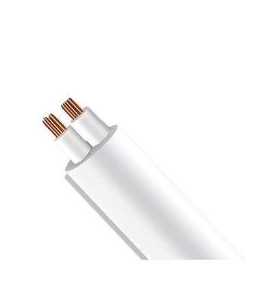 Rolo de Fio Flexível PP Redondo com Alma de Aço para Instalação LED - 2x0,50mm² 100 metros