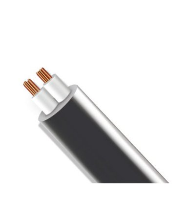Rolo de Fio Flexível PP Redondo para Instalação LED - 2x0,75mm² 100 metros