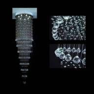 Lustre Pendente LED Cristal 50x150