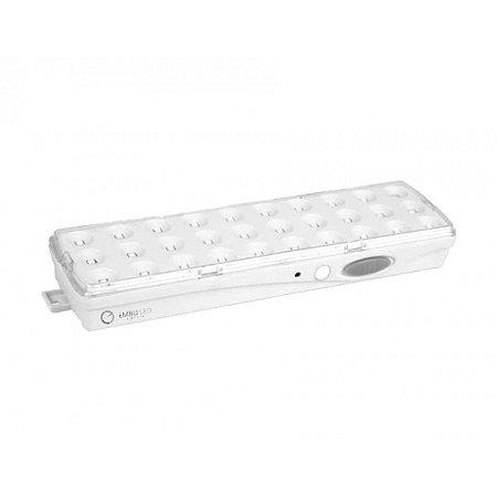 Mini Luminária LED de Emergência 2W | 30 Leds