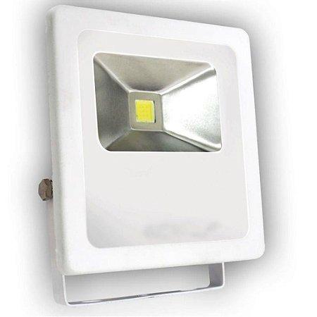 Refletor Holofote LED 20w Branco Frio Branco