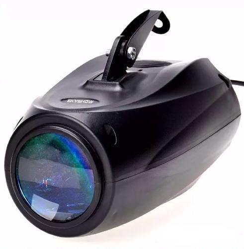Refletor Holofote LED Raio de Sol Skyshow 64 Leds Colorido para Festa