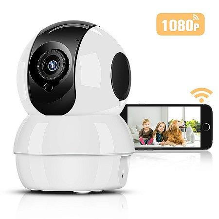 Câmera Segurança de LED IP Infravermelho 720p HD Wireless Wifi Audio