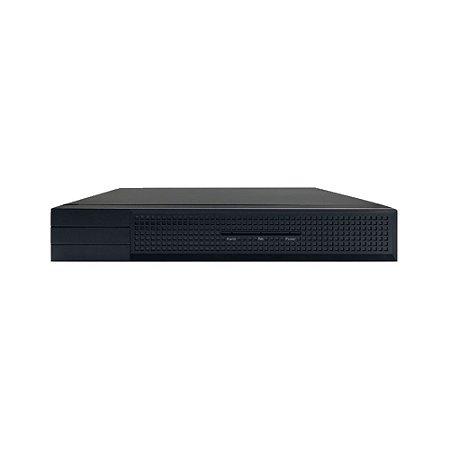 NVR Stand Alone 4 Canais PoE Full HD para Sistema de Segurança CFTV