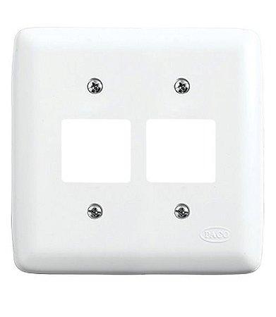 Conjunto Placa para 4 Interruptores