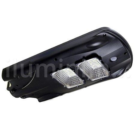 Luminária Solar LED 40w para Poste Branco Frio com Sensor