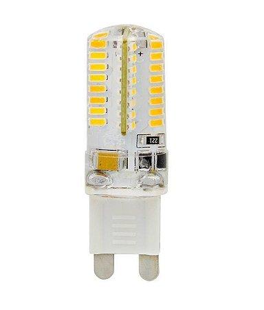 Lampada LED Halopin G9 3w Branco Quente 220V | Inmetro