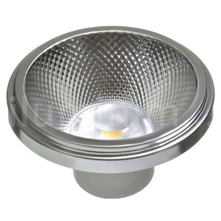 Lâmpada LED AR111 10W de Embutir Branco Frio | Inmetro