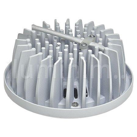 Lâmpada LED AR111 13W Branco Quente 3000K   Inmetro