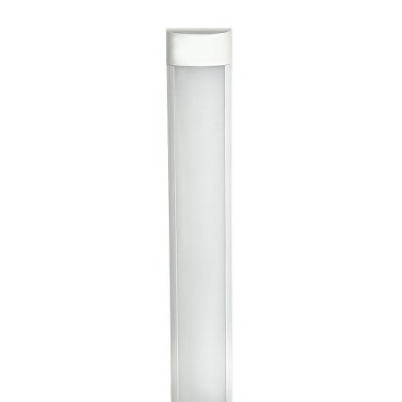Tubular LED Sobrepor Completa 10W 30cm Branco Frio | Inmetro