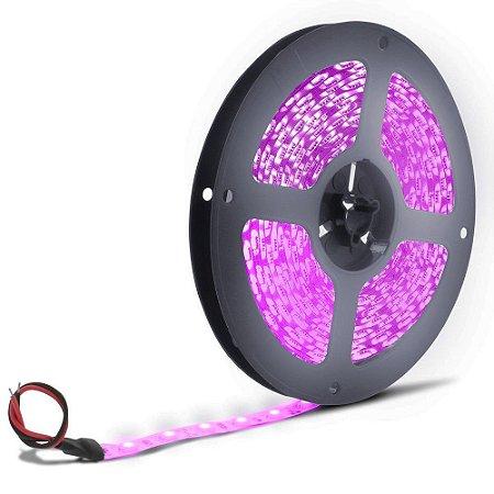 Fita LED 5050 Rosa 5 metros IP65 - À prova d'água - 72W