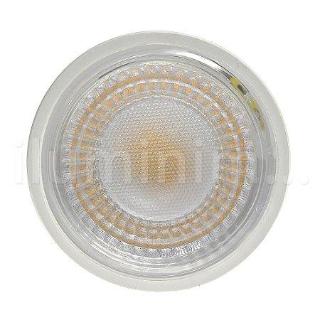 Lâmpada Dicroica LED GU10 6,5w Branco Quente   Inmetro