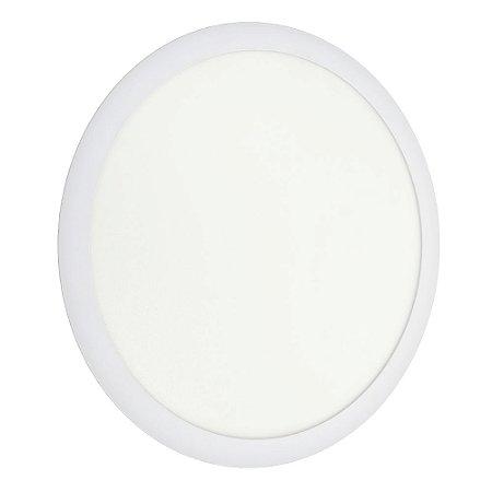 Luminária Plafon 36w LED Embutir Branco Neutro