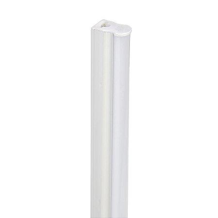 Lampada LED Tubular T5 9w - 60cm c/ Calha - Branco Neutro | Inmetro