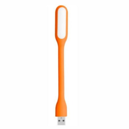 Luminaria LED USB para Notebook - Laranja