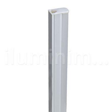 Lampada LED Tubular T5 6w - 30cm c/ Calha - Branco Quente | Inmetro