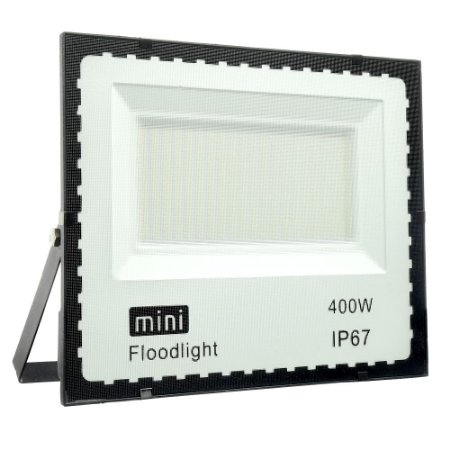 Mini Refletor Holofote LED SMD 400W Branco Frio IP67