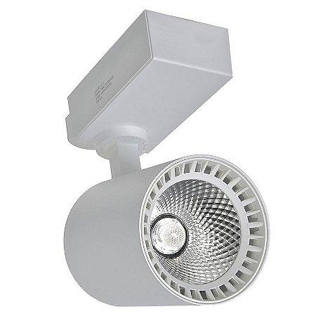 Spot LED 18W Branco Neutro para Trilho Eletrificado Branco