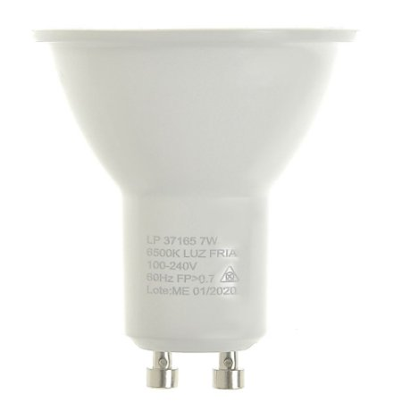 Lâmpada LED Dicroica MR16 7w Branco Frio | Inmetro