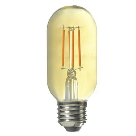 Lampada LED Vintage T45 4W Branco Quente | Inmetro